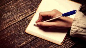 Tener un diario